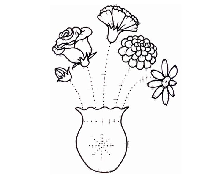 Jaukā ziedu vāze